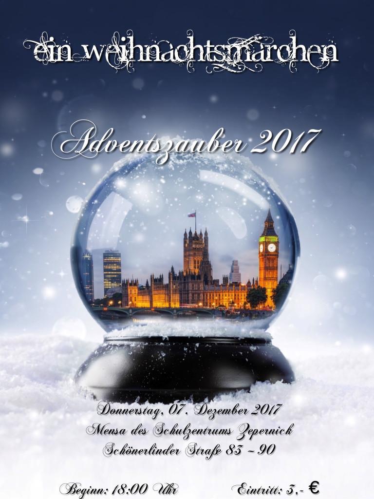 Plakat Adventszauber 2017